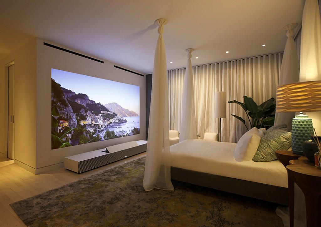 Home cinéma haut de gamme Sony LSPX-W1S