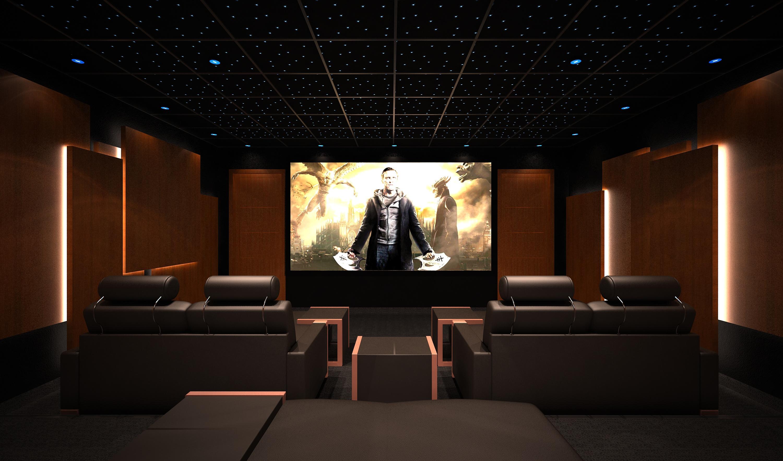 marvelous creer sa salle de cinema 4 salle de cin233ma chez soi th233b233 sign233e le client. Black Bedroom Furniture Sets. Home Design Ideas
