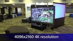 louer un videoprojecteur 4K ultra courte focale