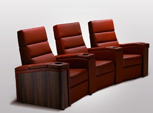 installation home cinéma : fauteuils